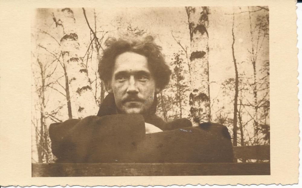 Juozapas Albinas Herbačiauskas. Apie 1906 m., Krokuva