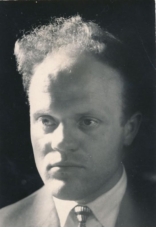 Juozas Aputis apie 1960 m.