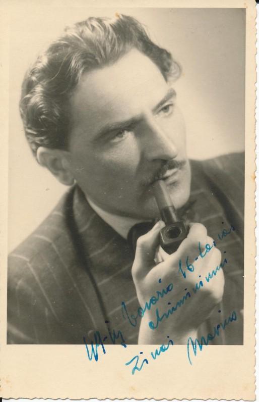 M. Katiliškis. Freiburgas, 1949 m.