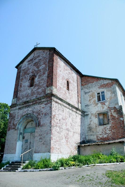 Ragainės (dabar Neman, Kaliningrado sritis) bažnyčia, kurioje 1549–1563 m. kunigavo Martynas Mažvydas. Dabar čia gyvenamasis namas. 2013 m.