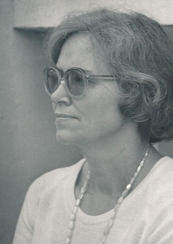 """Ramutė Skučaitė """"Poezijos pavasario"""" šventėje. 1981 m. O. Pajedaitės nuotrauka"""