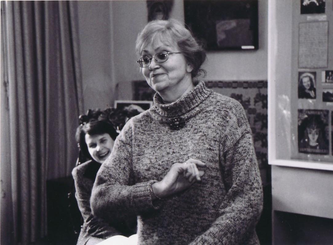Ramutė Skučaitė Vaikų literatūros muziejuje. 2011 m. lapkričio 14 d.