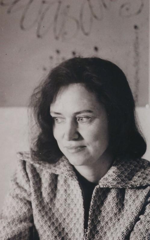 Ramutė Skučaitė. 1971 m. A. Baryso nuotrauka