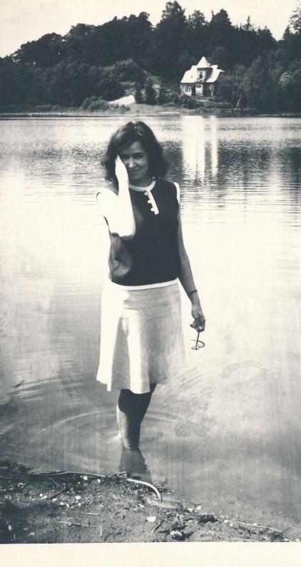Ramutė Skučaitė. Apie 1960 m. J. Grikienio nuotrauka