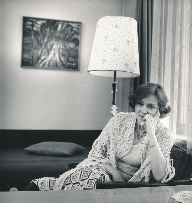Ramutė Skučaitė. Apie 1970 m.