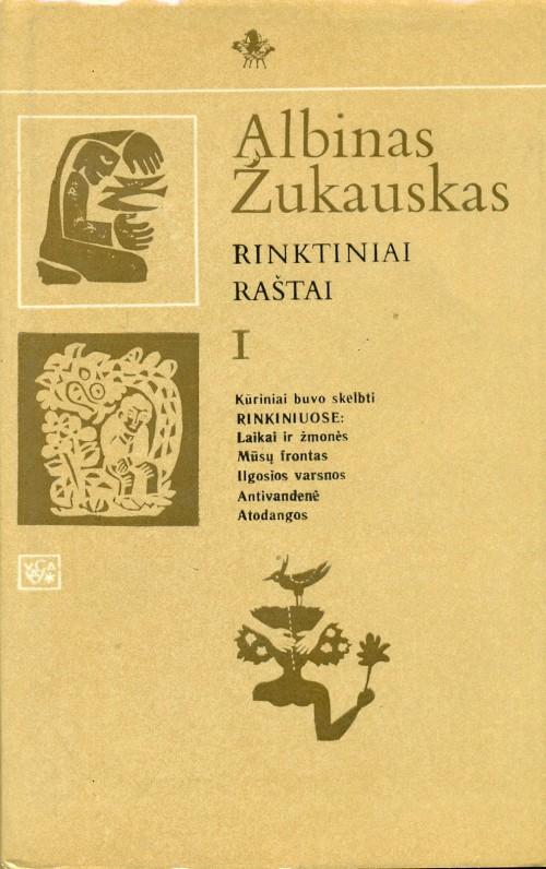 Rinktiniai raštai, t. 1. Vilnius, 1986 m.
