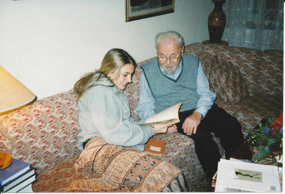 Su anūke Vaiva Aglinskaite Vilniuje