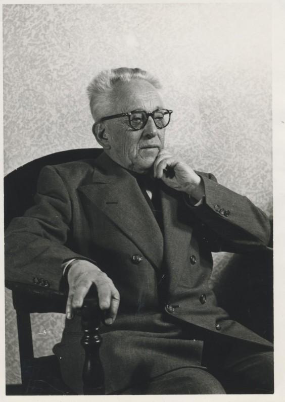 V. Krėvė. Apie 1952 m.