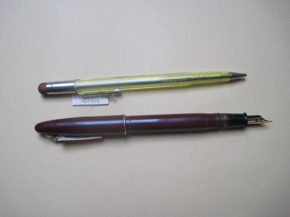 V. Krėvės parkeris ir pieštukas
