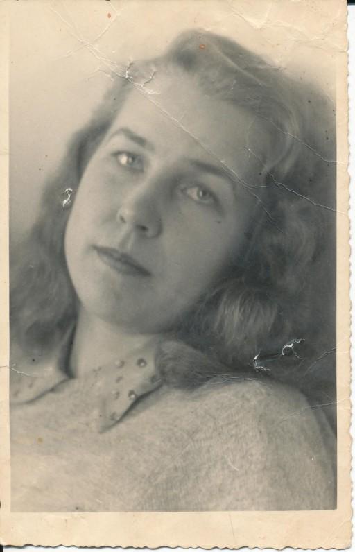 Z. Nagytė. Freiburgas, 1949 m.