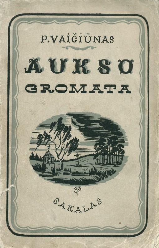 """""""Aukso gromata"""". – Kaunas, 1938 m."""