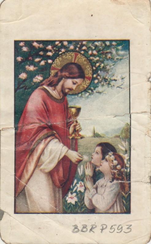 """""""Jėzus ir aš. Maldų knygelė berniukams ir mergaitėms"""". [Kaunas, 1933m.] Autorė Julija Maceinienė. Maldyno titulinis lapas"""