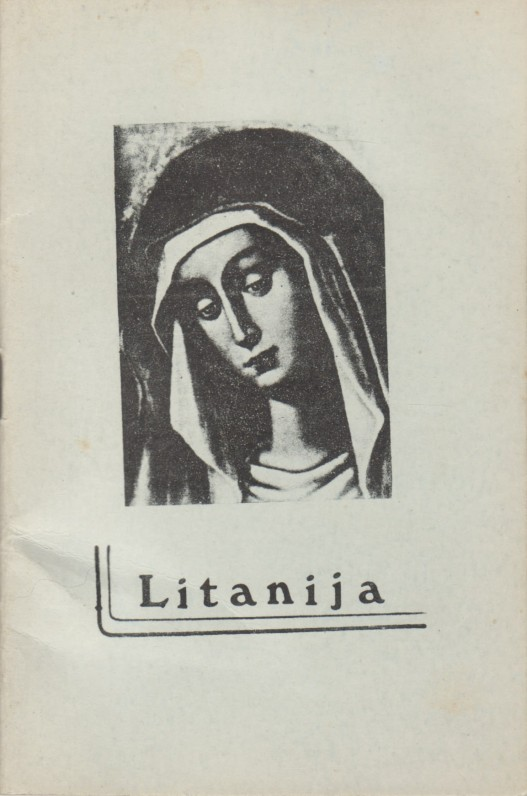 """""""Litanija"""". Giesmynas. Brazilija, Sao Paulo, 1979 m. Su Bern. Brazdžionio taisymais"""