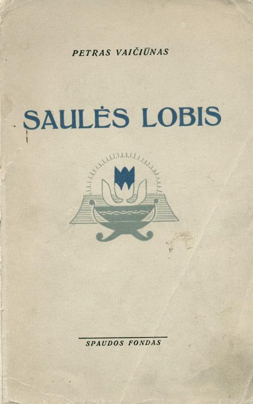 """""""Saulės lobis"""". – Kaunas, 1935 m."""