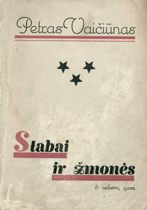"""""""Stabai ir žmonės"""". – Kaunas, 1929 m."""