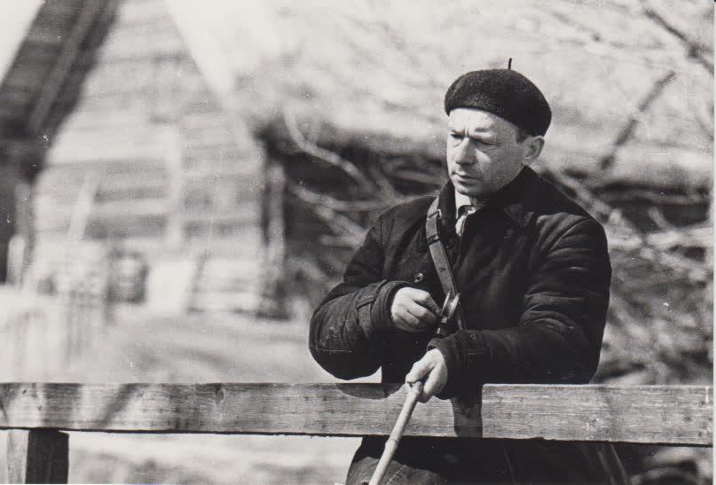 Prie Peršokšnos upelio Švenčionių raj. 1965 m. balandis (1)