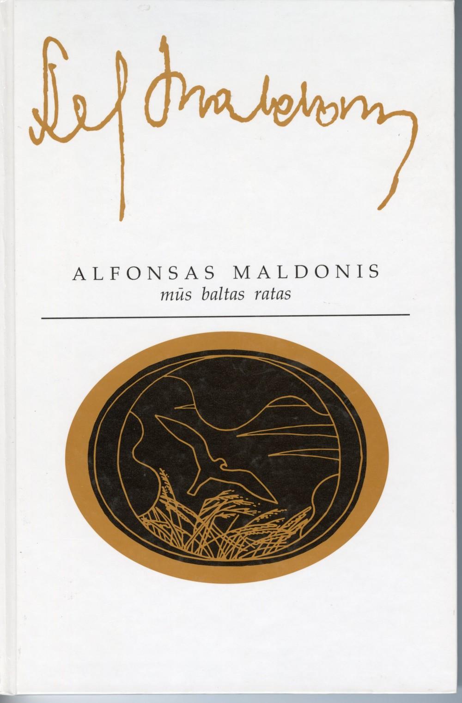 """1996 m. Knyga """"Mūs baltas ratas"""" iliustruota grafiko R. V. Gibavičiaus spalvotos cinkografijos darbais"""
