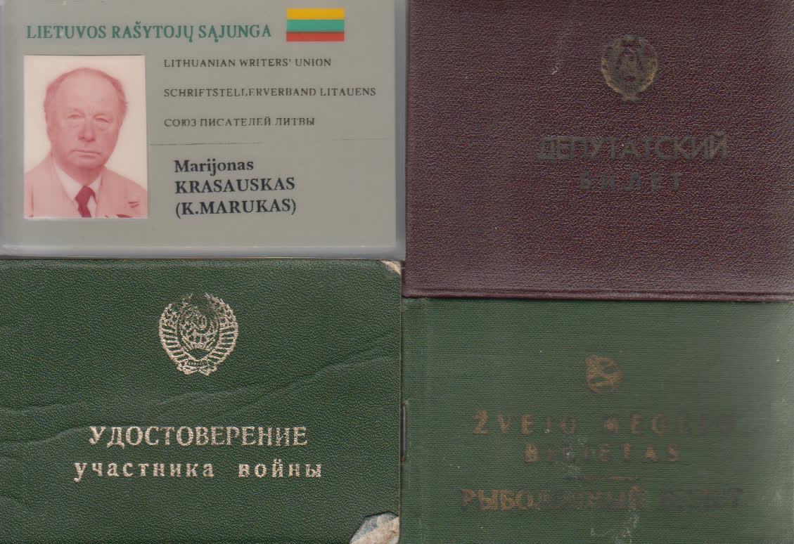 K. Maruko dokumentai