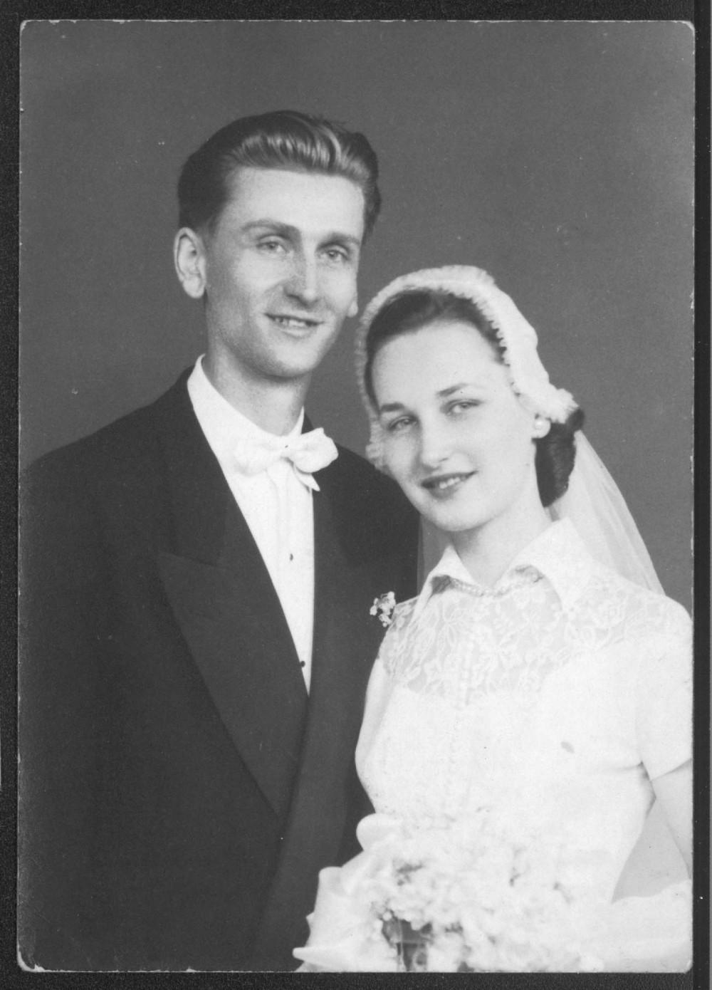 A. Landsbergio ir Joan Florence Jacobi vestuvės. Niujorkas, 1951 m.