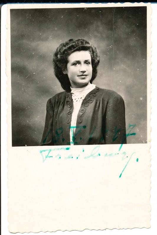 A. Veščiūnaitė. Freiburgas. 1947 m.