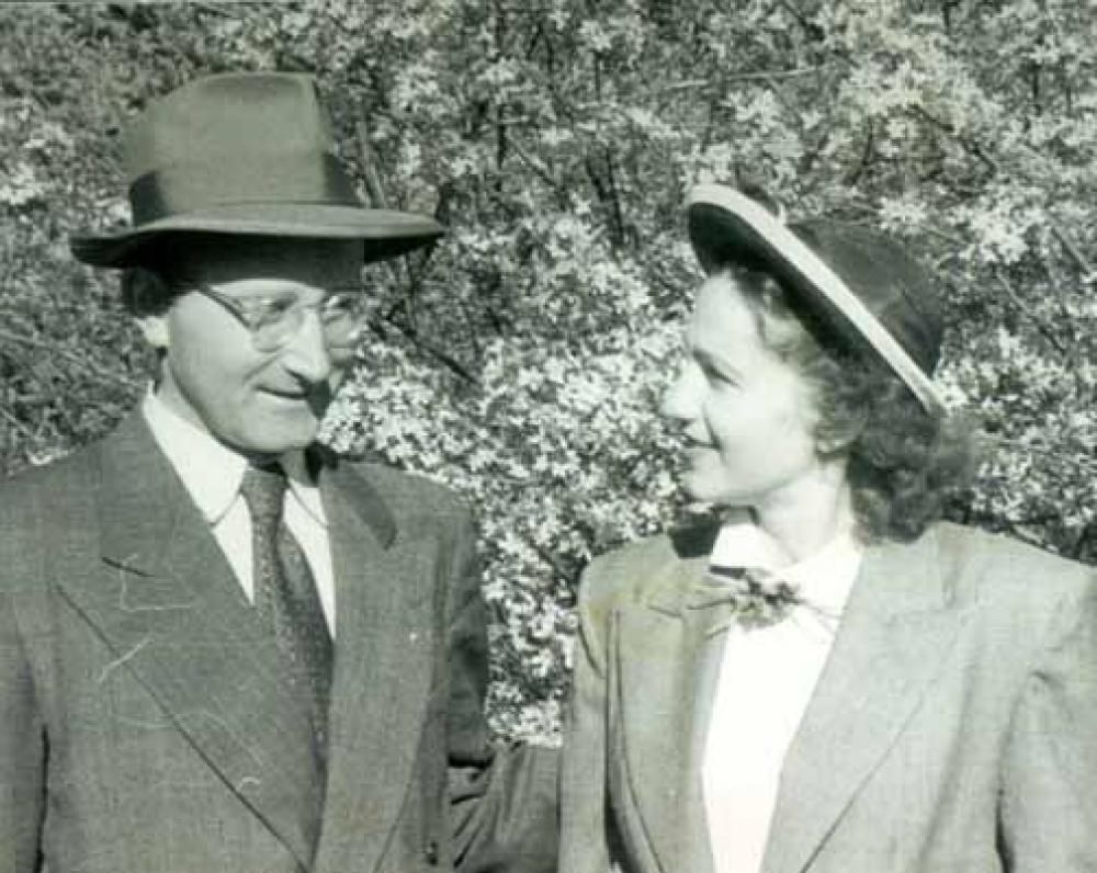 A. ir J. Vaičiulaičiai. 1949 m.