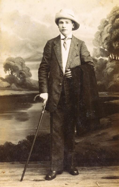 Aldonos tėvas – Anupras Veščiūnas. 1914 m.