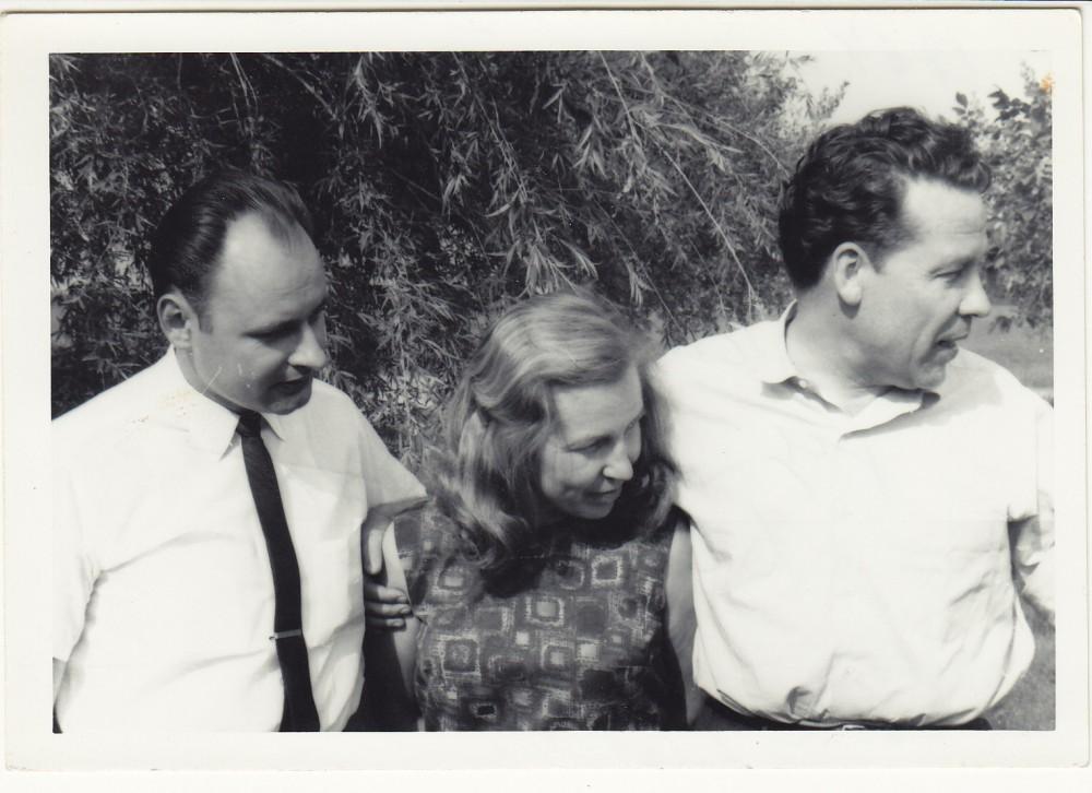 Algimantas Mackus, Zinaida Nagytė, H. Nagys. Lemontas, 1964 m.