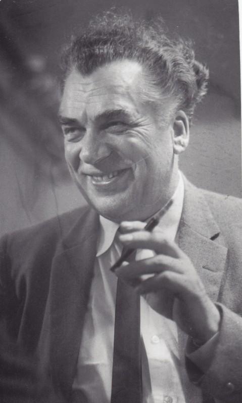 Antanas Gustaitis. Apie 1967 m. Nuotrauka V. Maželio