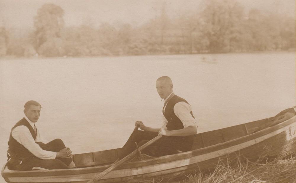 Balio Sruogos laiškas Juozapui Sruogai. Miunchenas, 1923 05 16 (į Berlyną)
