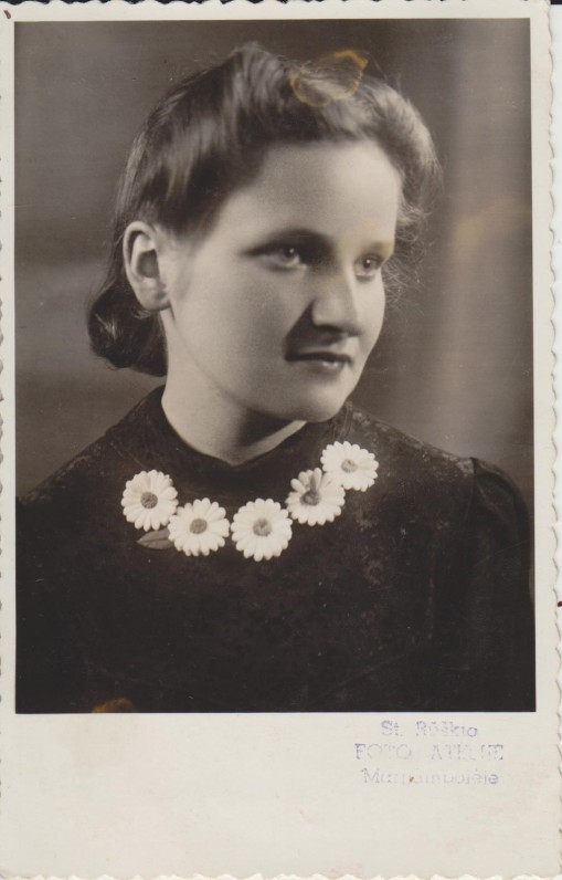 Elena Spurgaitė. 1942 m.