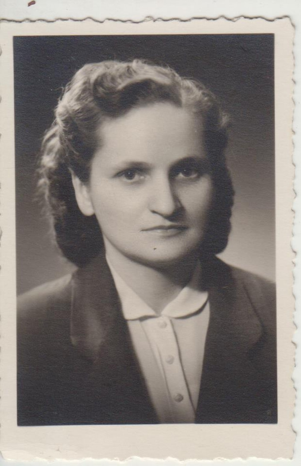 Elena Spurgaitė. Apie 1955 m.