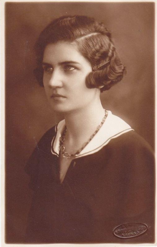 G. Tulauskaitė, 1931 m.