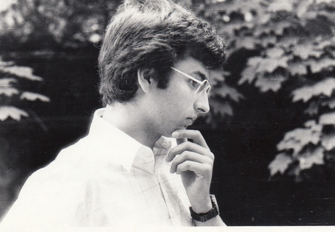 Grigorijaus Kanovičiaus sūnus Sergejus Kanovičius. Apie 1986 m. J. Grikienio nuotrauka
