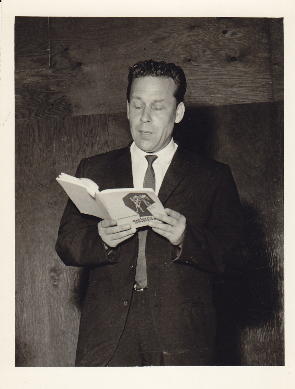 """H. Nagys """"Santaros-Šviesos"""" suvažiavime. Čikaga, apie 1960 m."""
