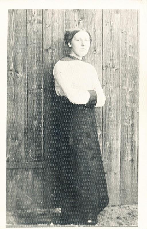 Ieva Simonaitytė 1915 m.