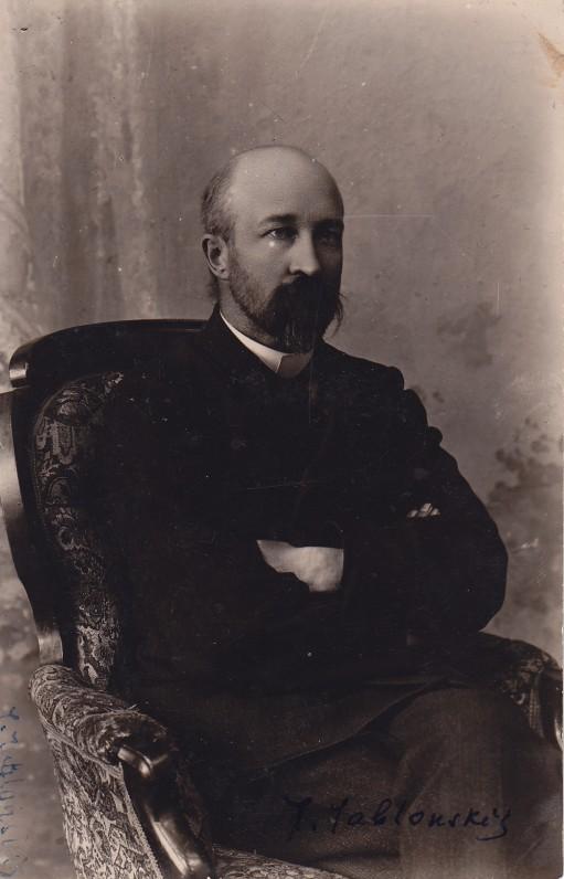 J. Jablonskis apie 1900 m.