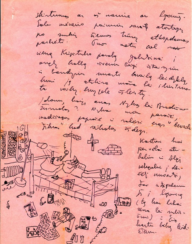 J. Kaupo laiškas H. Nagiui, 2