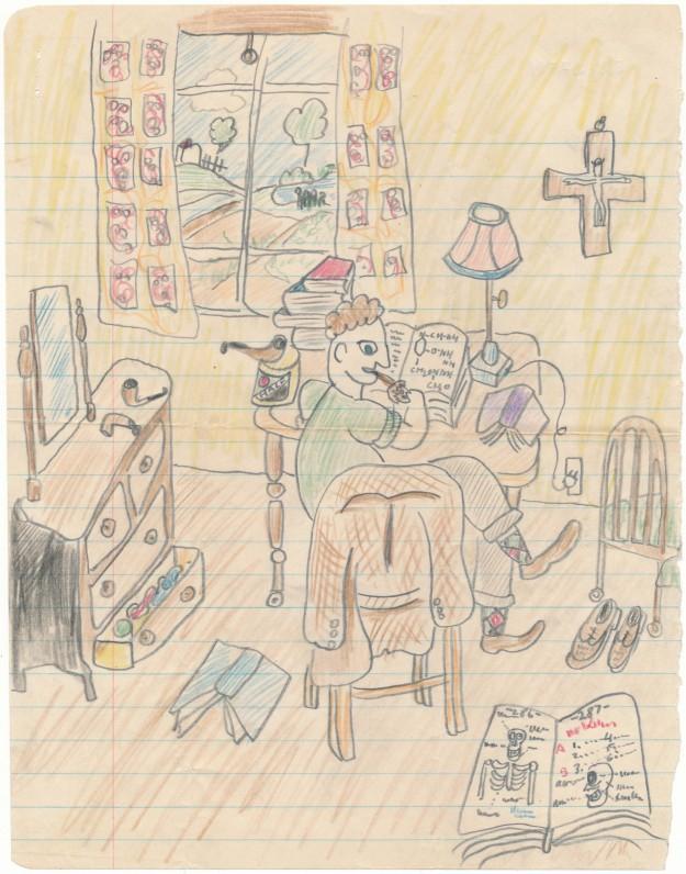 J. Kaupo laiškas H. Nagiui, iliustracija
