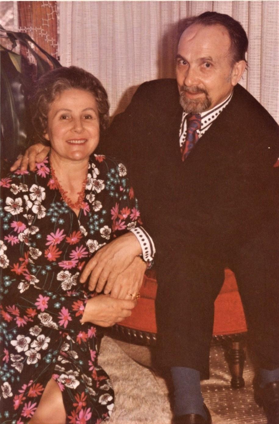 J. Švabaitė su vyru Jurgiu Gyliu. Čikaga, 1980 m.