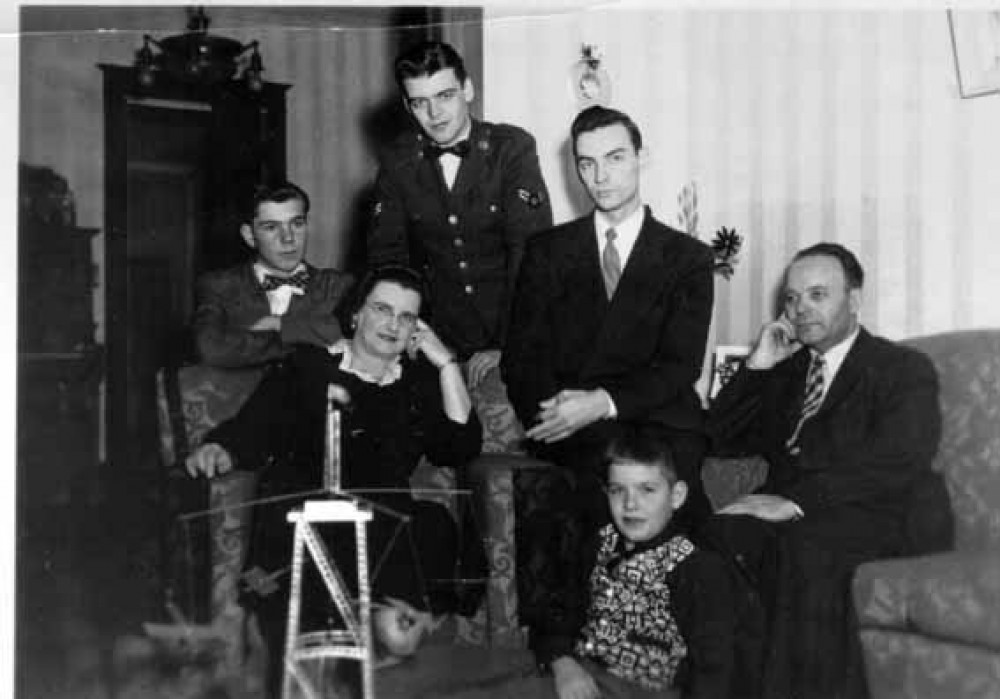 Jurgis Jankus su šeima