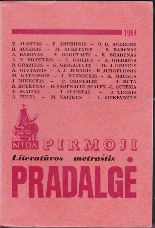 """K. Barėnas buvo sumanytojas ir sudarytojas dešimties literatūros metraščio """"Pradalgės"""" knygų"""