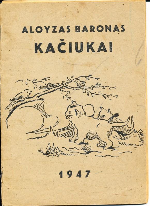 Kačiukai. Hanau. 1947 m.