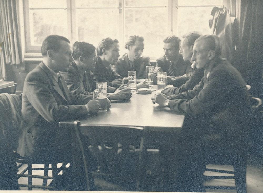 LRD suvažiavimo metu. Augsburgas, 1947 m. liepa