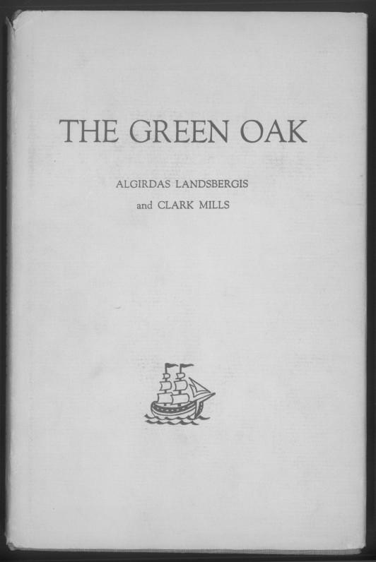 Lietuvių poezijos antologija. Sudarė A. Landsbergis ir C. Mills. Niujorkas, 1962 m.