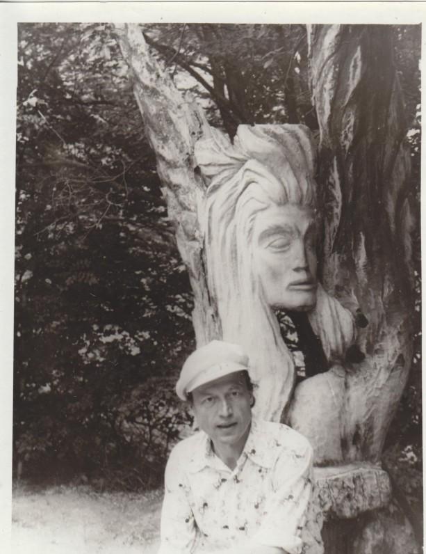 M. Vainilaitis Jaltoje 1979 m., 2