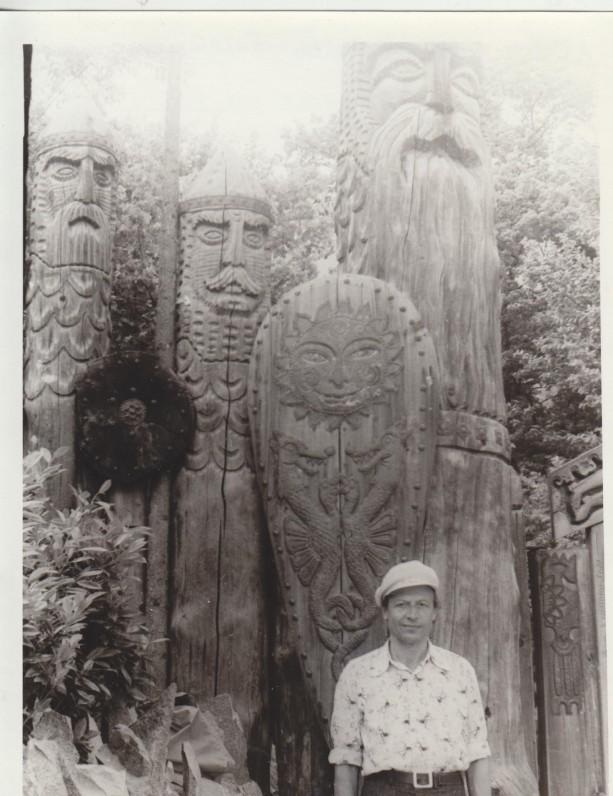 M. Vainilaitis Jaltoje 1979 m.