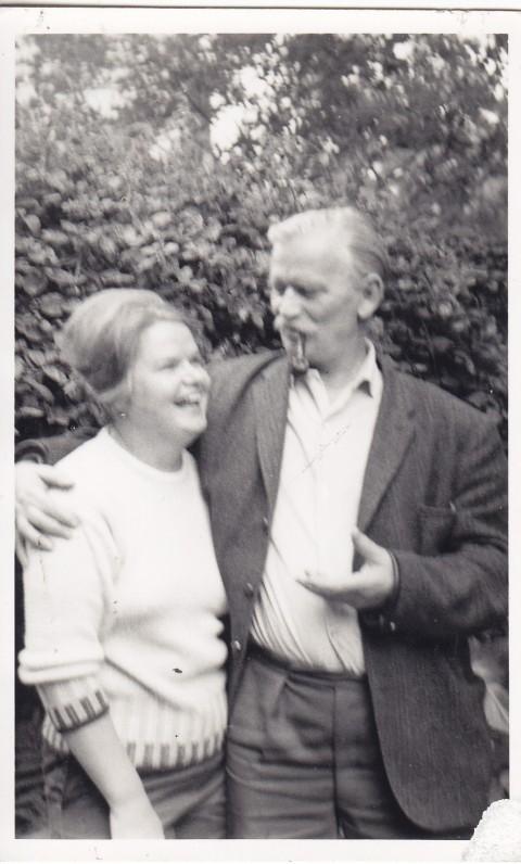 Marija ir Kazimieras. Londonas. Apie 1970 m.