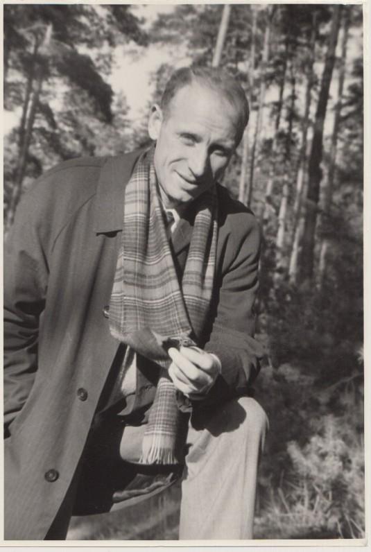 Mykolas Sluckis apie 1973 m. O. Pajedaitės nuotrauka