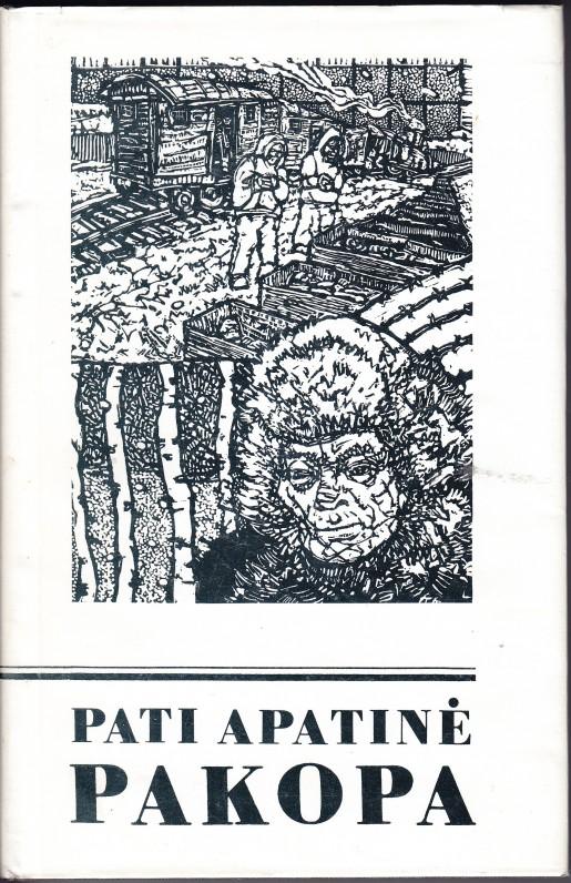 """Novelių romanas """"Pati apatinė pakopa"""", atnešęs rašytojui antrąją LRD premiją. 1992 m."""