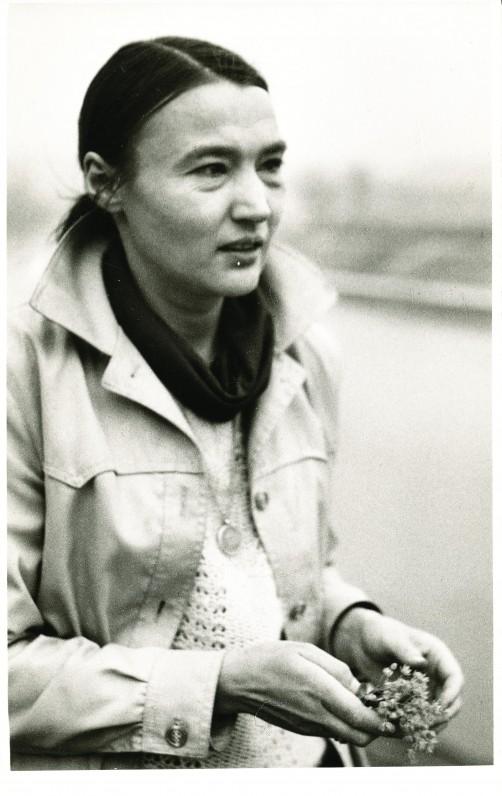 Onė Baliukonė. 1982 m. O. Pajedaitės nuotrauka